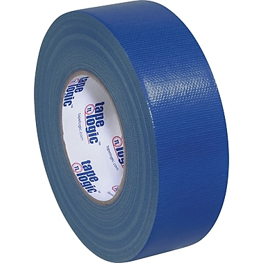 Tape Logic Economy Cloth Duct Tape, Dark Blue, 2in. x 60 Yards, 24 Rolls