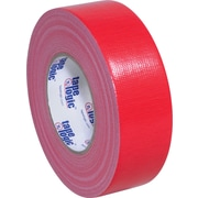 "Tape Logic Economy Cloth Duct Tape, Red, 2"" x 60 Yards, 24/Case"