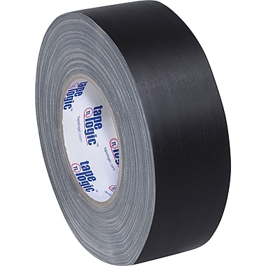 Tape Logic Industrial Gaffers Tape, Black, 2in. x 60 yds., 24/Case