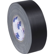 "Tape Logic Industrial Gaffers Tape, Black, 2"" x 60 yds., 24/Case"