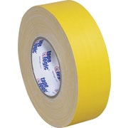 "Tape Logic Industrial Gaffers Tapes, Yellow, 2"" x 60 yds., 24/Case"