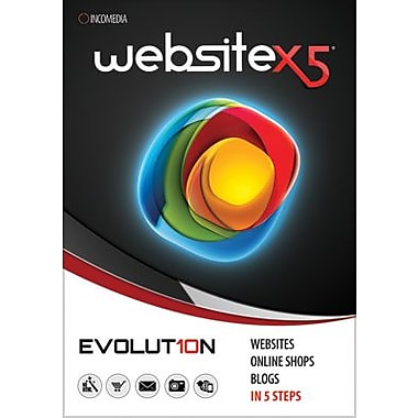 WebSite X5 Evolution 10 for Windows (1 User) [Download]