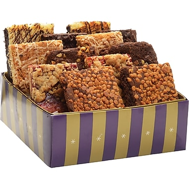 Bake-Me-A-Wish Assorted Gourmet Brownies, 12 Brownies/Box
