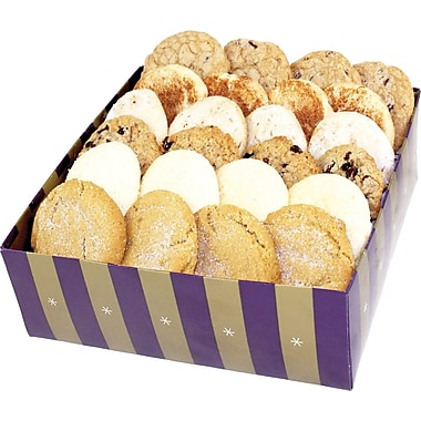 Bake-Me-A-Wish Assorted Gourmet Cookies, 24 Cookies/Box