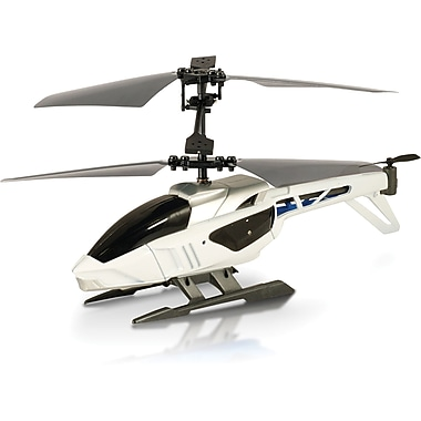 Silverlit Blu Tech Helicopter, White
