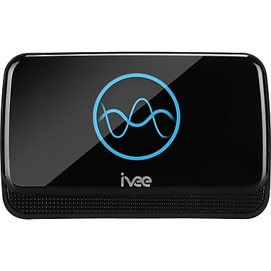 IVEE Sleek Wi-Fi Voice-Activated Assistant, Black