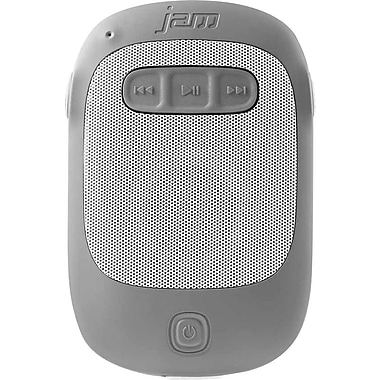Jam Splash Wireless Speaker, Gray