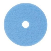 "3M™ Hi-Performance Burnish Pad, Blue, 20"", 5/Ct"