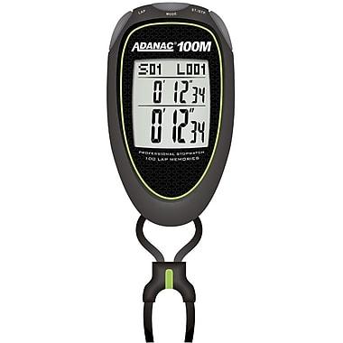Marathon Stopwatch, Super 100 Memory, Lime