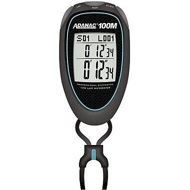 Marathon Stopwatch, Super 100 Memory, Turquoise