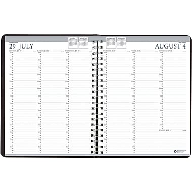 House of Doolittle® Academic Professional Weekly Appointment Book, 8-1/2 x 11in., 2014-2015