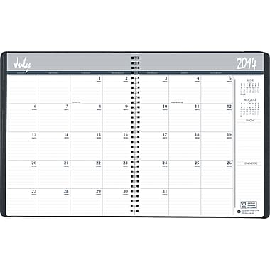 House of Doolittle® Academic Monthly Planner, 8-1/2 x 11in., 2014-2015