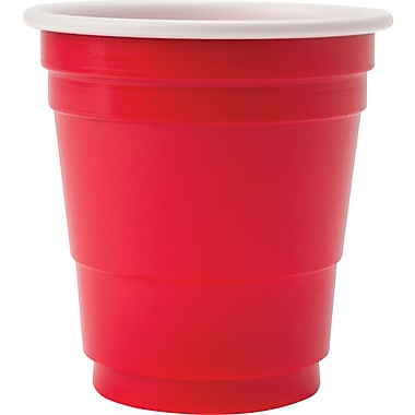 Goodtimes - Gobelets en plastique, rouge