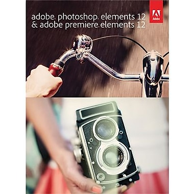 Adobe Photoshop Elements 12 & Adobe Premiere Elements 12 for Windows/Mac (1 User) [Download]