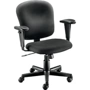 Staples® Fabric Task Chair, Black
