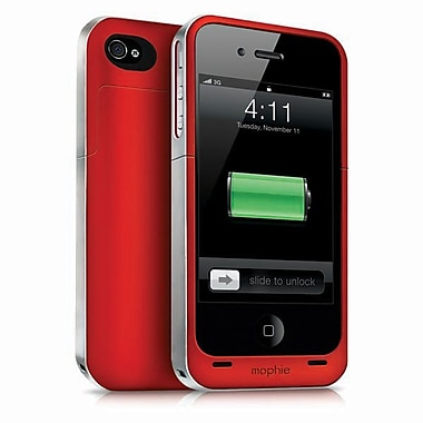 Mophie – Pile externe Juice Pack Helium pour iPhone 5, rouge