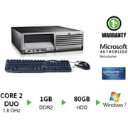Refurbished HP Compaq DC7700, 80GB Hard Drive, 2GB Memory, Intel Core 2 Duo, Win 7 Pro