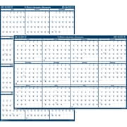 House of Doolittle® Erasable Academic Wall Planner, 24 x 37, 2014-2015