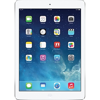 Apple iPad Air with Retina display with WiFI + Cellular (Verizon Wireless) 128GB, Silver