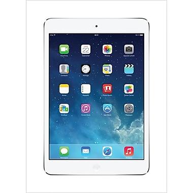 Apple – iPad mini avec écran Retina de 7,9 po, puce A7, Wifi + cellulaire, argent