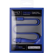 TYLT Syncable Lightning Cable, Blue