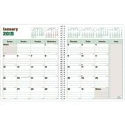 Rediform® Duraglobe Monthly Academic Planner, 8 x 7, 2014 - 2015