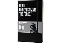 Moleskine Star Wars Limited Edition Notebook, Large, Ruled, Black, Hard Cover, 5' x 8-1/4'