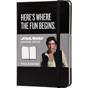 Moleskine Star Wars Limited Edition Notebook, Pocket, Ruled, Black, Hard Cover, 3-1/2 x 5-1/2