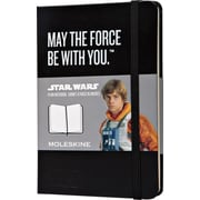 Moleskine Star Wars Limited Edition Notebook, Pocket, Plain, Black, Hard Cover, 3-1/2 x 5-1/2