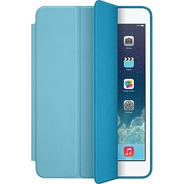 Apple iPad mini Smart Case, Aniline-Dyed Leather, Blue (ME709ZM/A)