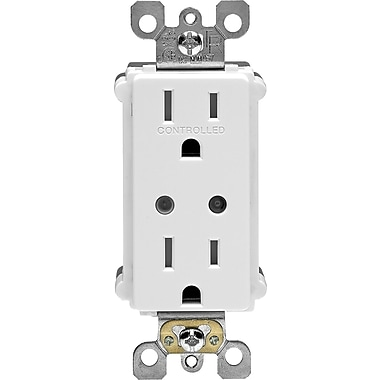 Vizia RF + Scene Capable Split Duplex Tamper Resistant Receptacle