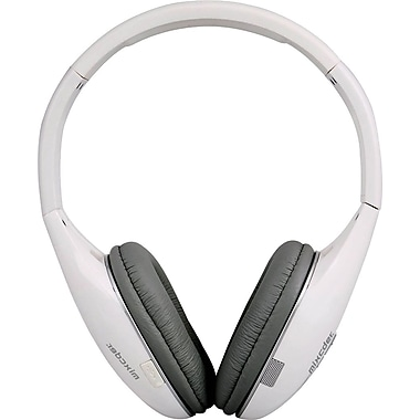 MIXCDER M2C307 Bluetooth Headset, White