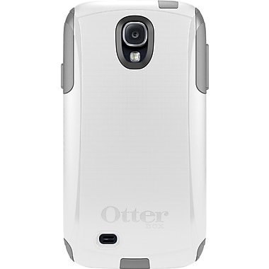OtterBox Commuter Galaxy S4 Case, White/Grey