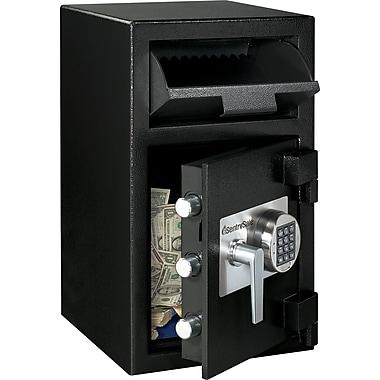 SentrySafe® DH-109E Drop Slot Depository Security Safe, Black