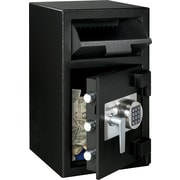 SentrySafe® DH-109E Drop Slot Depository Security Safe, Black