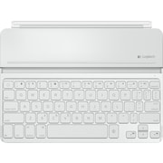 Logitech Ultrathin Keyboard Covers for iPad Air, White
