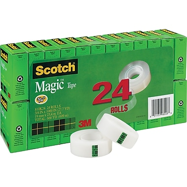 Scotch® Magic™ Tape Refill 810, 3/4