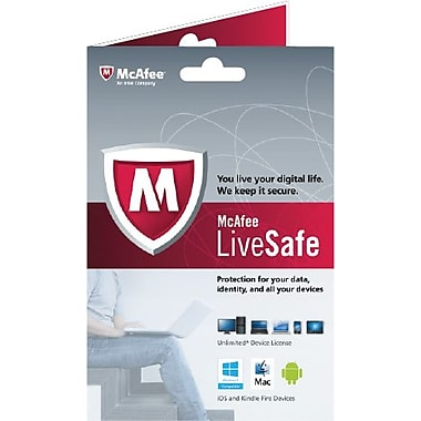 McAfee LiveSafe (Unlimited Device License) [Boxed]