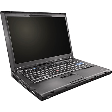 Refurbished Lenovo ThinkPad T400 14.1in., 160GB Hard Drive, 2GB Memory, Intel Core 2 Duo, Win 7 Pro