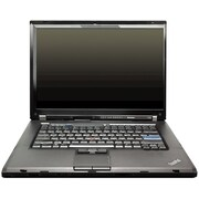 Refurbished Lenovo ThinkPad T500 15.4, 160GB Hard Drive, 2GB Memory, Intel Core 2 Duo, Win 7 Pro