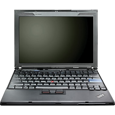 Refurbished Lenovo ThinkPad X200 12.1in., 160GB Hard Drive, 2GB Memory, Intel Core 2 Duo, Win 7 Pro
