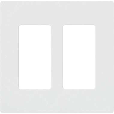 Lutron Claro 2-Gang Wallplates