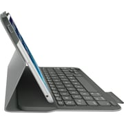 Logitech Ultrathin Bluetooth Keyboard Folio for iPad mini, Veil Grey (920-006030)