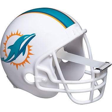 Scotch® Miami Dolphins Helmet Tape Dispenser with Scotch®Magic™ Tape