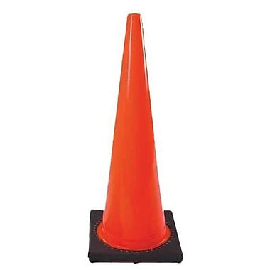 Cortina Safety Cone, 18in., Orange/Red