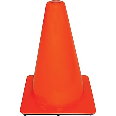 3M Tekk  12in. Safety Traffic Cone, Orange