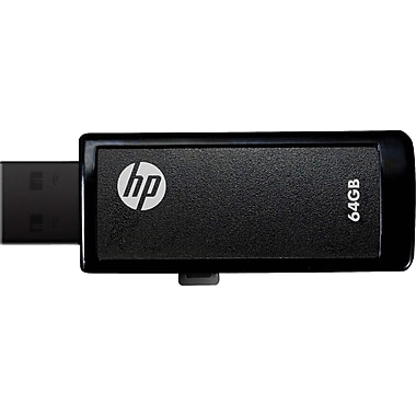 HP v255w 64GB USB 2.0 USB Flash Drive (Black)