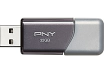 PNY Turbo 32GB USB 3.0 Flash Drive (P-FD32GTOP-GE)