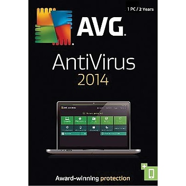 AVG AntiVirus 2014, 2-Year for Windows (1 User) [Download]
