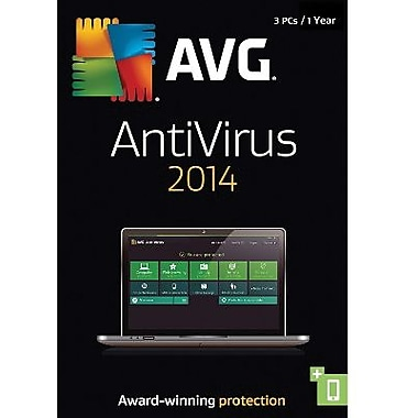 AVG AntiVirus 2014, 1-Year for Windows (1-3 Users) [Download]